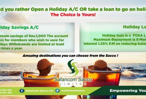 Holiday Account and Holiday Loan